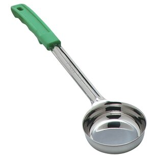 Measure Misers® 4 Oz. Stainless Steel Solid Spoon (Set of 12) By Carlisle Food Service Products