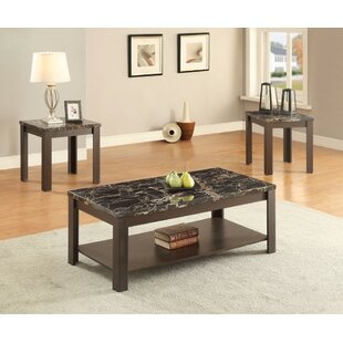 Ebern Designs Pierson Coffee Table Set (Set of 3)