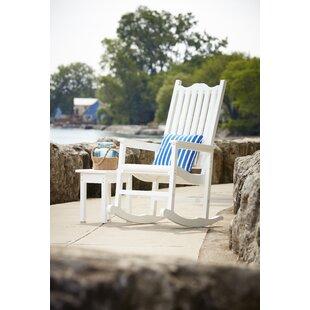 Alanna Porch Rocking Chair by Beachcrest Home