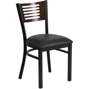Read Reviews HERCULES SERIES BLACK DECORATIVE SLAT BACK METAL RESTAURANT CHAIR by Flash Furniture Reviews (2019) & Buyer's Guide
