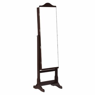 Red Barrel Studio Houle Free Standing Jewelry Armoire with Mirror