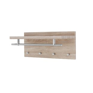 Chambray Wall Mounted Coat Rack By Brambly Cottage