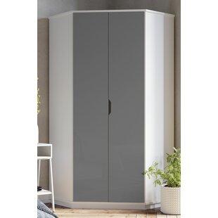 Colbey 2 Door Corner Wardrobe By Ebern Designs