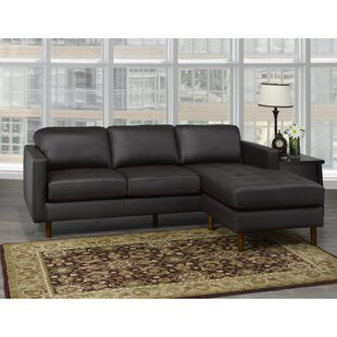 Treva Leather Sectional