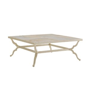 Misty Garden Aluminum Coffee Table