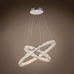 Alexa 45W LED Pendant by Everly Quinn