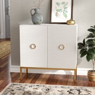 Metal Base Accent Cabinet by L..