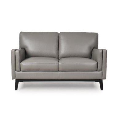 Fine Lanoue Leather Loveseat Brayden Studio Bralicious Painted Fabric Chair Ideas Braliciousco