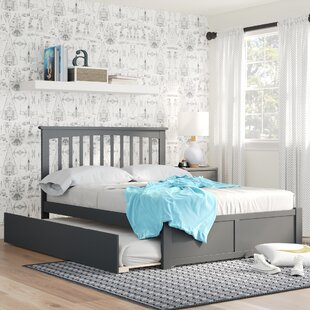 Compare prices Reid Full Platform Bed with Trundle by Viv + Rae Reviews (2019) & Buyer's Guide