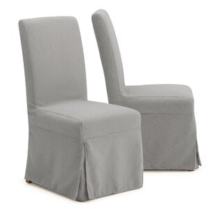 Theodore Armless Upholstered Dining Chair (Set of 2) by One Allium Way