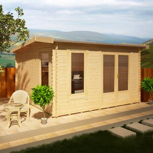 Lavinia 12 X 12 Ft. Tongue And Groove Log Cabin Image