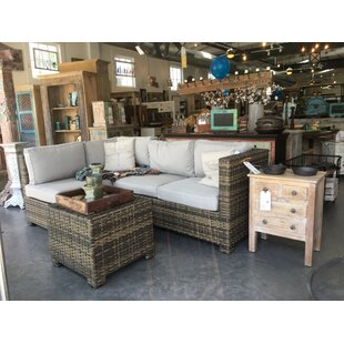 Sonoma Sectional with Cushions by Signature Rattan