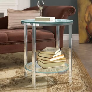 Joel End Table by Wade Logan