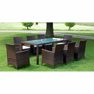 Bazemore 8 Seater Dining Set With Cushions By Sol 72 Outdoor
