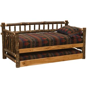 Hickory Daybed by Fireside..
