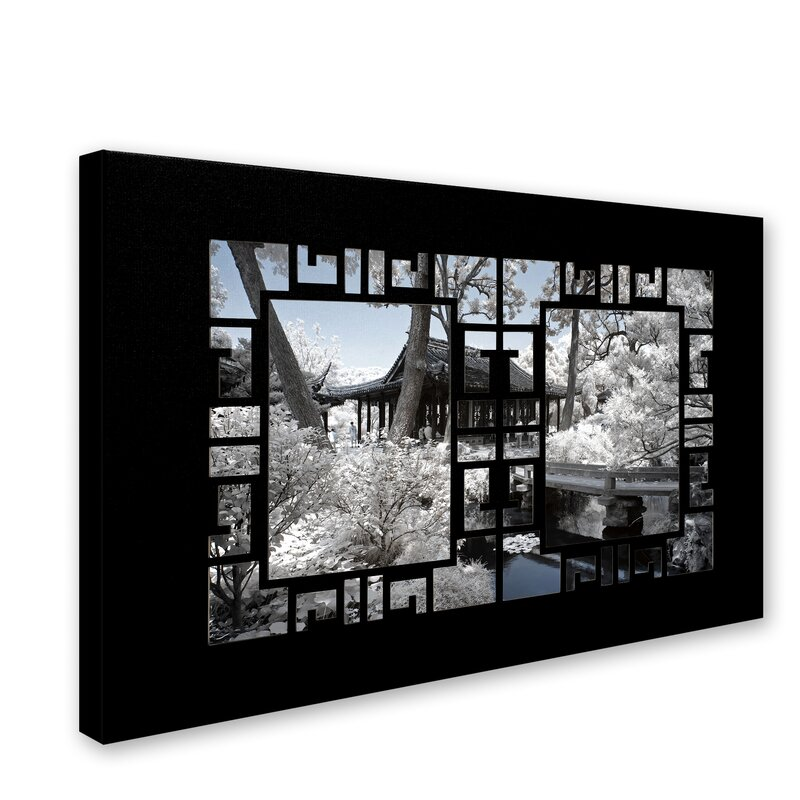 Trademark Art Zen View By Philippe Hugonnard Photographic Print On Wrapped Canvas Wayfair