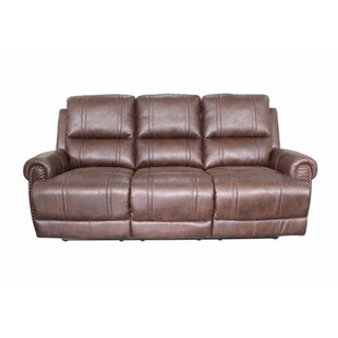 Rusnak Reclining Sofa by Charlton Home