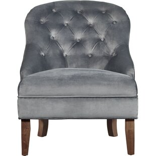 Vera Tufted Armchair Chair by Elle Decor