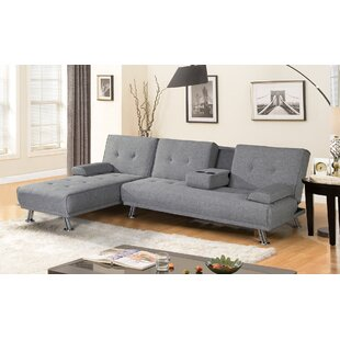 Bulmershe 2 Piece Reversible Sleeper Sectional by Orren Ellis