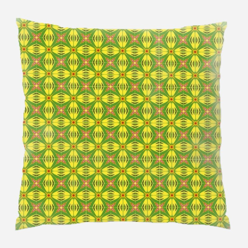 East Urban Home Seamless Throw Pillow Wayfair