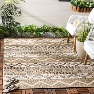 Rangely Brown/Ivory Indoor/Outdoor Area Rug