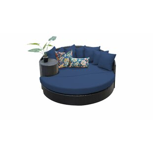 Purchase Medley Patio Daybed with Cushions Good price