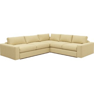 "Jackson 104""x114"" Corner Sectional by TrueModern SKU:BE745124 Information"