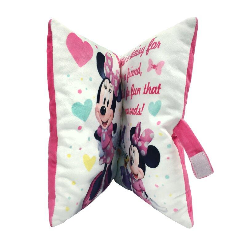 shopkins disney minnie mouse storytime lumbar pillow wayfair