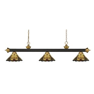 Billington 3-Light Pool Table Lights by Fleur De Lis Living