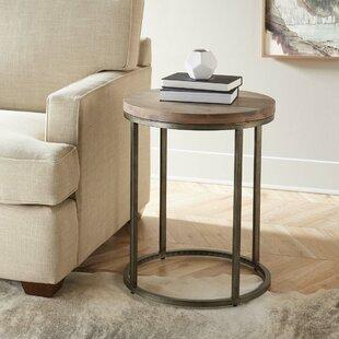 Louisa Circular End Table by Brayden Studio