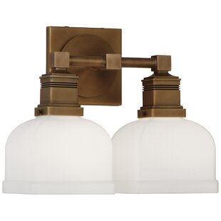 Robert Abbey Taylor 2-Light Armed Sconce