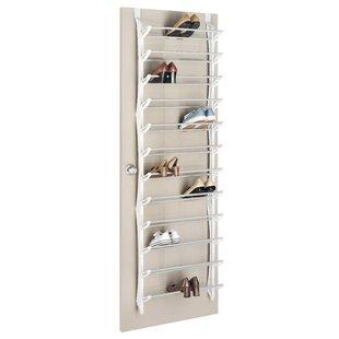 Best Price 36 Pair Over The Door Shoe Rack with Non-Slip Bars ByWhitmor, Inc