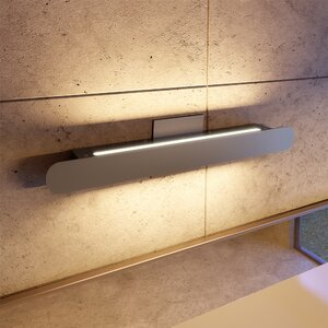 Aspasius LED Aura 1-Light Bath Bar