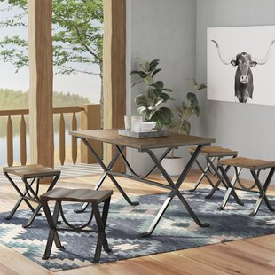 Aguiar 5 Piece Dining Set by Trent Austin Design Best Designt