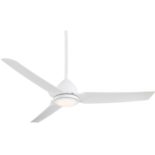 54 Java 3 Blade LED Ceiling Fan with Remote By Minka Aire Outdoor Lighting