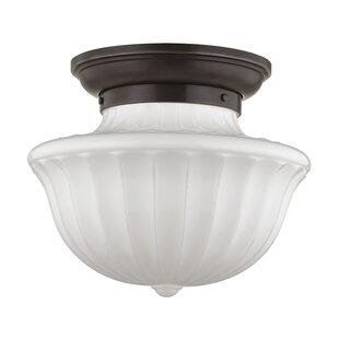 Darby Home Co Emmett 1-Light Semi-Flush Mount