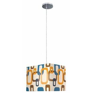 Ebern Designs Krausgrill 1-Light Square/Rectangle Pendant