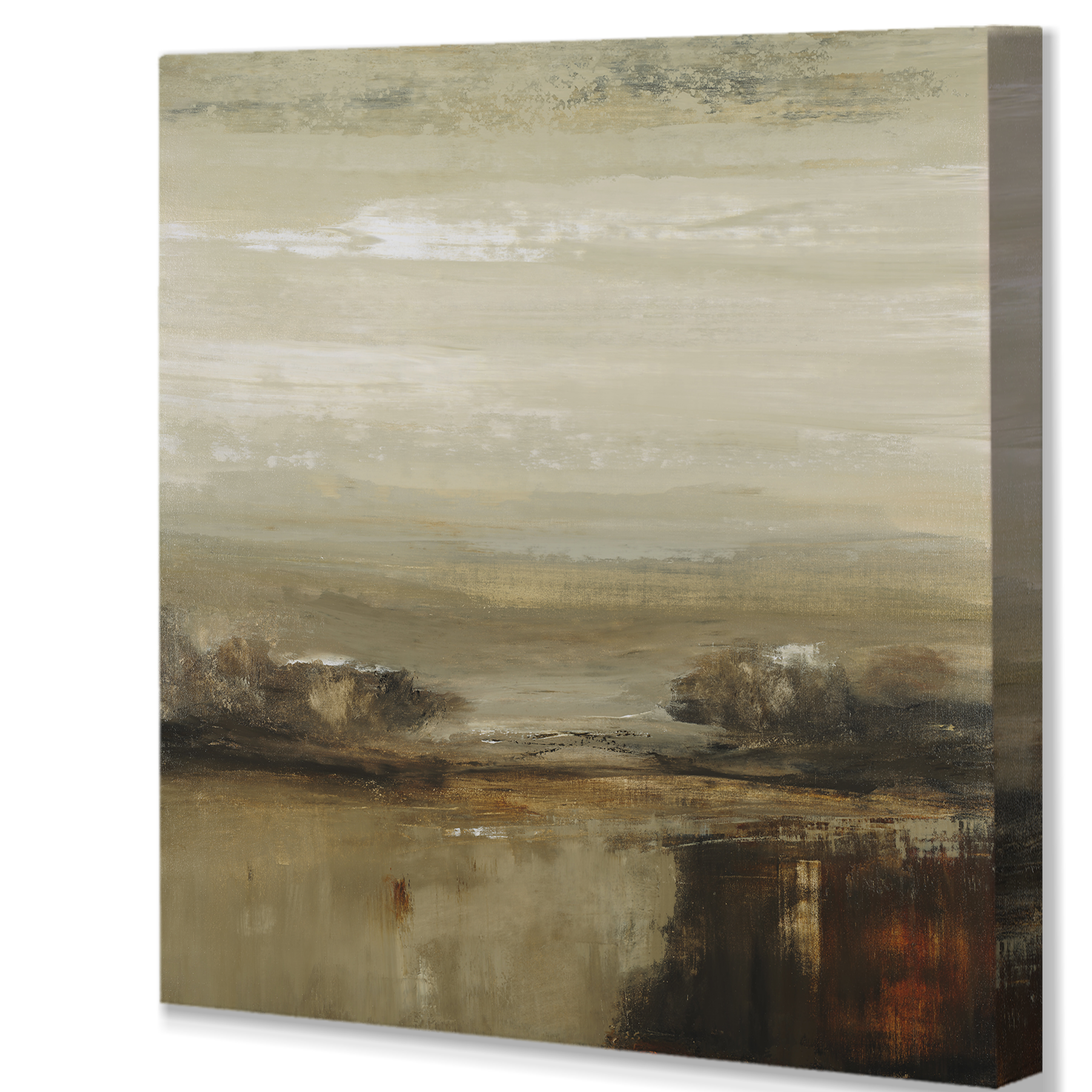 Ebern Designs Natural Surroundings Painting Print On Wrapped Canvas Wayfair