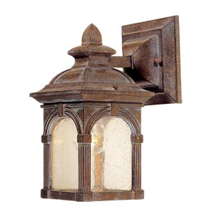 Compare & Buy Browner 1-Light Outdoor Wall Lantern By Fleur De Lis Living