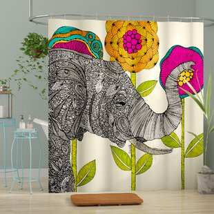 Mellott Aaron Shower Curtain