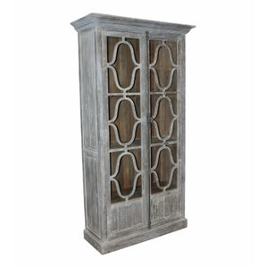 Quatre Vitrine China Cabinet by White x White