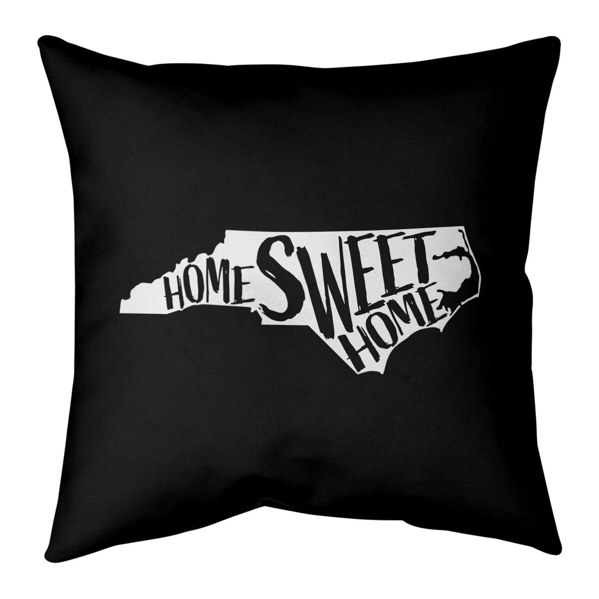 East Urban Home Home Sweet Connecticut Pillow Cover Wayfair