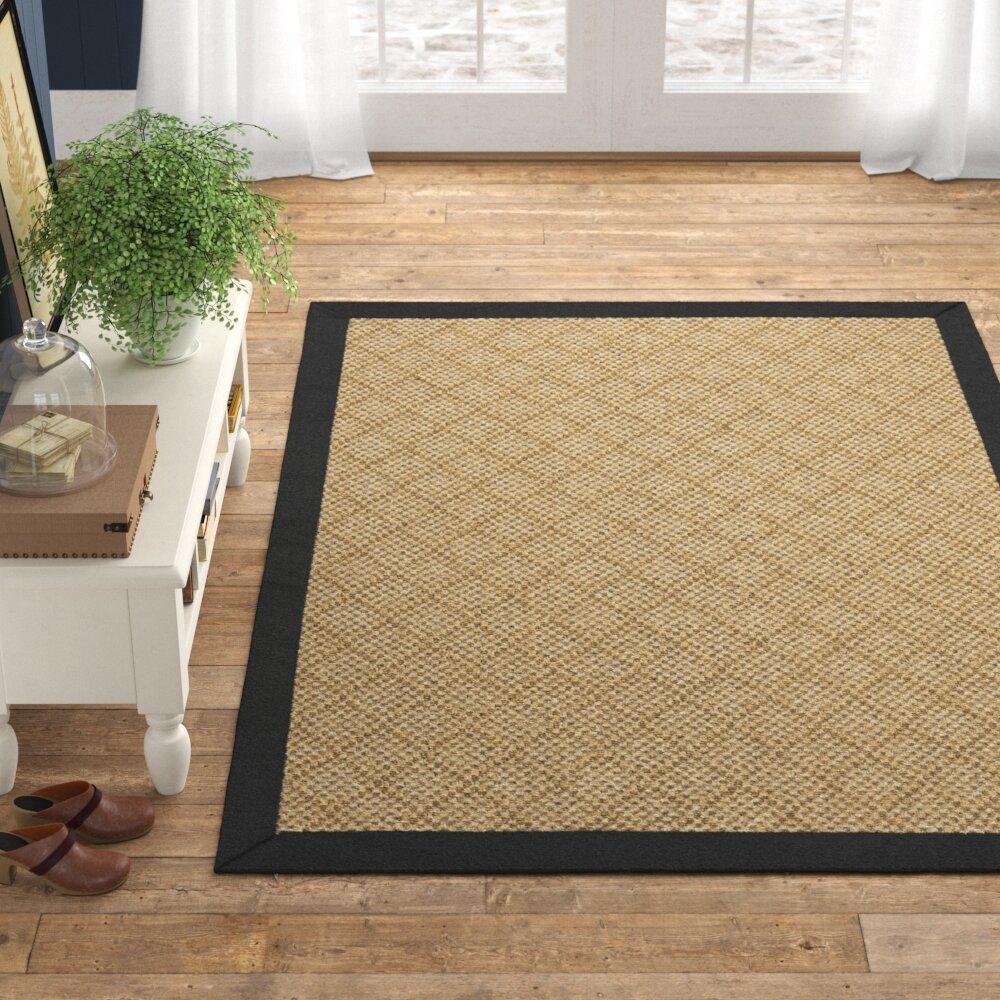 Modern Style Rugs┃Summer Flat Weave Border┃Indoor or Outdoor Rug