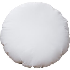 Round Hypoallergenic Cotton Throw Pillow