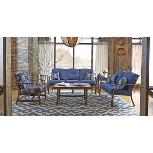 5 Piece Sunbrella Sofa Set with Cushions
