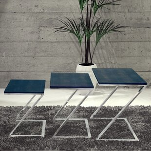 Comparison 3 Piece Nesting Tables by Empire Art Direct