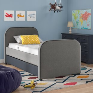Retha Twin Platform Bed with Trundle