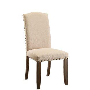 Holly Hills Upholstered Dining Chair (Set Of 2) by Loon Peak Today Only Sale
