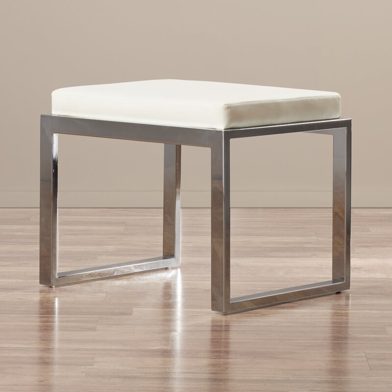 Chagnon Metal Accent Stool Reviews Allmodern