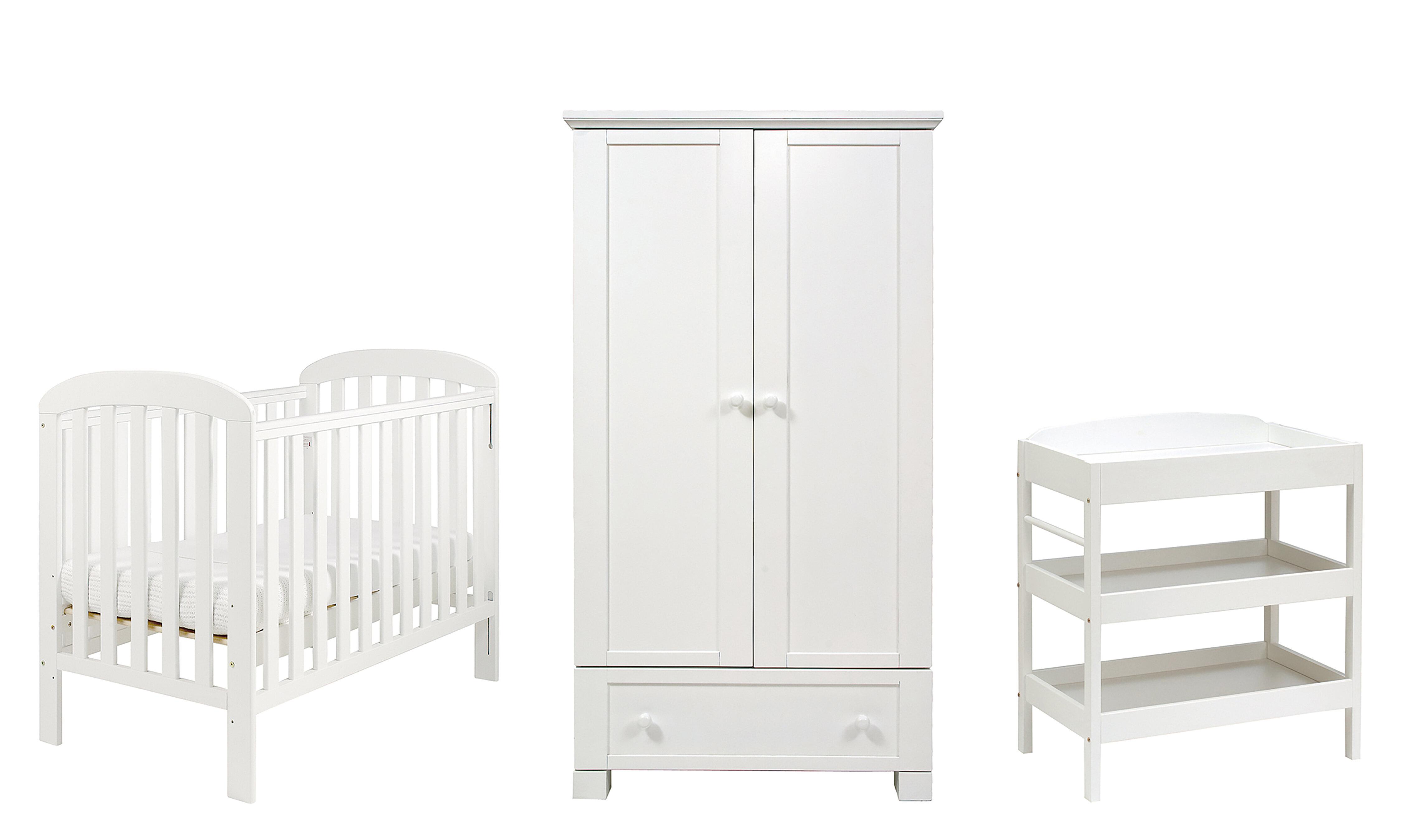 Nala Cot 3 Piece Nursery Furniture Set